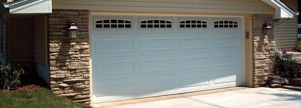 Long Panels Garage Door