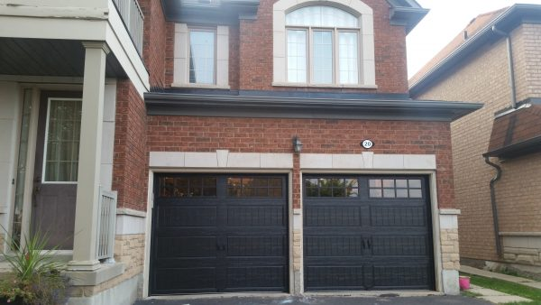 Black Garage Door 2